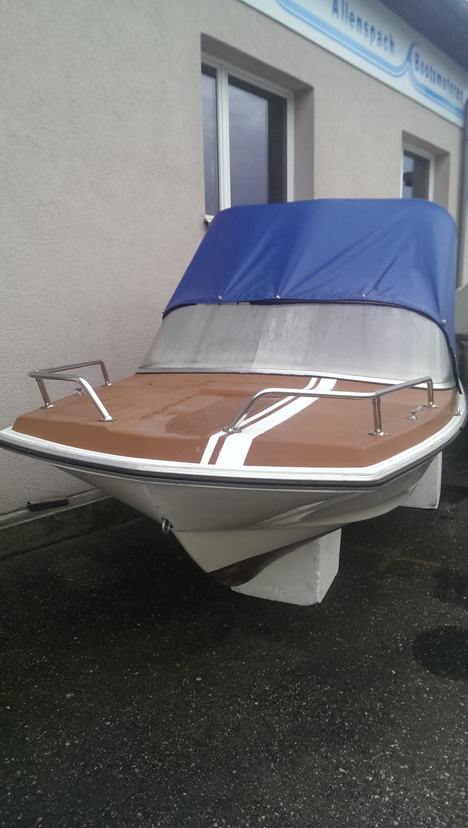 Motorboot Kammin Kaliner