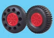 Räder, Reifen und Auflagen