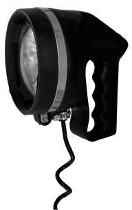 Hand-Suchscheinwerfer, 12 V / 50 W, mit Halogenbirne