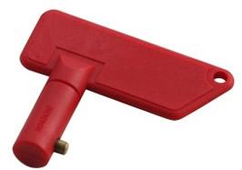 Batteriehaupschalter Schlüssel