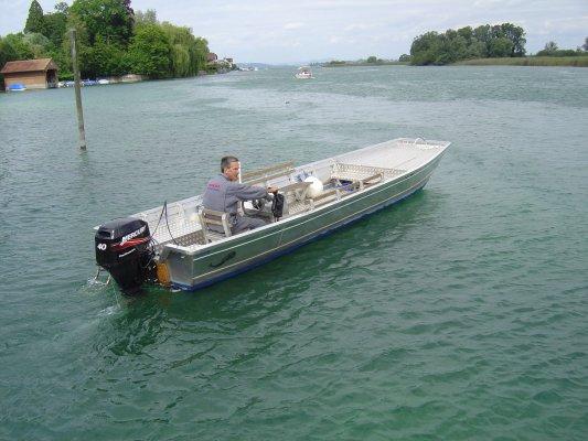 Gropp Boot Arbeitsboot/Weidling