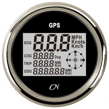GPS Kompass Geschwindigkeitsanzeige